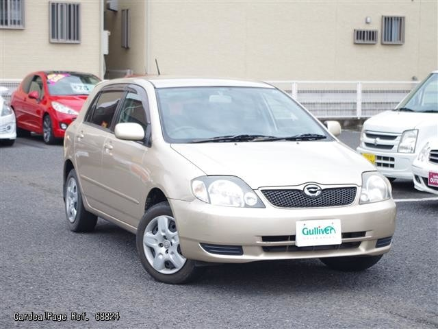Used Toyota Corolla Runx Japanese Used Cars Cardealpage