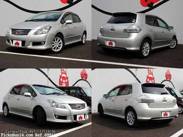 2007 feb d 39 occasion toyota blade dba aze156h ref no 17118196 voitures d 39 occasion japonaises. Black Bedroom Furniture Sets. Home Design Ideas