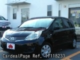 Used NISSAN NOTE Ref 118233