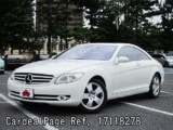 Used MERCEDES BENZ BENZ CL-CLASS Ref 118278