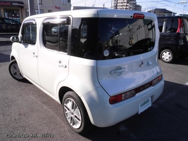 2008 nov d 39 occasion nissan cube dba z12 ref no 17125710 voitures d 39 occasion japonaises. Black Bedroom Furniture Sets. Home Design Ideas
