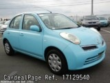 Used NISSAN MARCH BOX Ref 129540
