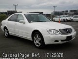 Used MERCEDES BENZ BENZ S320 Ref 129878