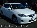 Used LEXUS LEXUS CT200H Ref 131657