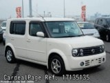 Used NISSAN CUBE CUBIC Ref 135135