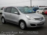 Used NISSAN NOTE Ref 137553