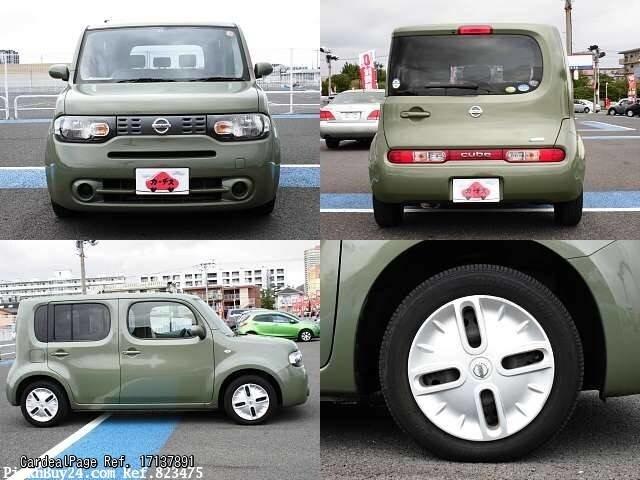2010 aug d 39 occasion nissan cube dba z12 ref no 17137891 voitures d 39 occasion japonaises. Black Bedroom Furniture Sets. Home Design Ideas