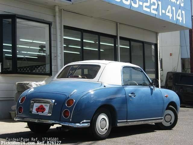 1991 jun d 39 occasion nissan figaro e fk10 ref no 17145601 voitures d 39 occasion japonaises. Black Bedroom Furniture Sets. Home Design Ideas