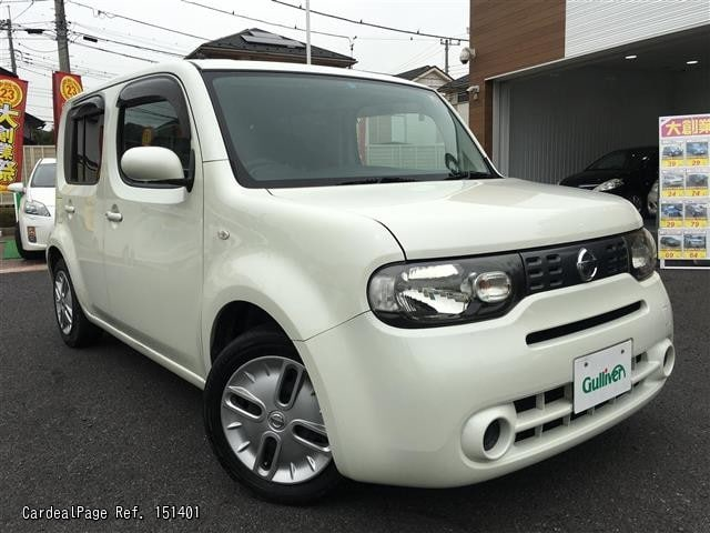 2010 nov d 39 occasion nissan cube dba z12 ref no 17151401 voitures d 39 occasion japonaises. Black Bedroom Furniture Sets. Home Design Ideas