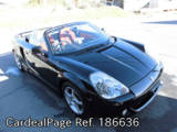 Used TOYOTA MR-S Ref 186636