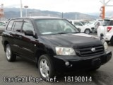 Used TOYOTA KLUGER Ref 190014