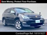 Used TOYOTA HARRIER Ref 191627