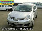 Used NISSAN NOTE Ref 205752