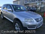 Used VOLKSWAGEN VW TOUAREG Ref 209275