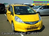 Used HONDA FIT Ref 214012