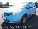 Used NISSAN NOTE Ref 214773