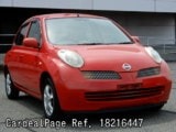 Used NISSAN MARCH BOX Ref 216447