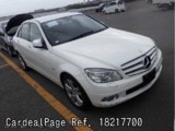 Used MERCEDES BENZ BENZ C-CLASS Ref 217700