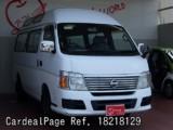 Usado NISSAN CARAVAN BUS Ref 218129