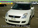 Used SUZUKI SWIFT Ref 218514