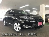 Used TOYOTA HARRIER Ref 221894