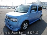 Used NISSAN CUBE Ref 227420