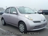 Used NISSAN MARCH BOX Ref 233616