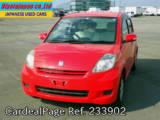 Used TOYOTA PASSO Ref 233902