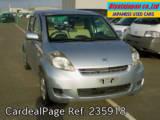 Used TOYOTA PASSO Ref 235918