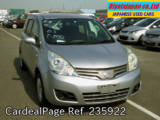 Used NISSAN NOTE Ref 235922