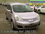 Used NISSAN NOTE Ref 240730