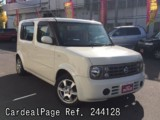 Used NISSAN CUBE CUBIC Ref 244128