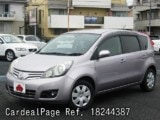 Used NISSAN NOTE Ref 244387