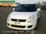 Used SUZUKI SWIFT Ref 245247