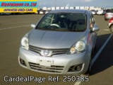 Used NISSAN NOTE Ref 250385
