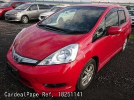 HONDA FIT SHUTTLE GP2 Big1