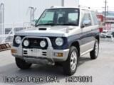 Used MITSUBISHI PAJERO MINI Ref 270801