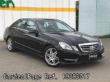 Used MERCEDES BENZ BENZ E-CLASS Ref 283017