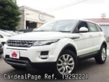 Used LAND ROVER LAND ROVER RANGE ROVER EVOQUE Ref 292221