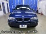 Used BMW BMW X3 Ref 310670