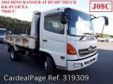 Used HINO HINO RANGER Ref 319309