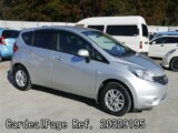 Used NISSAN NOTE Ref 329195