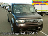Used NISSAN CUBE Ref 330415