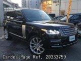 Used LAND ROVER LAND ROVER RANGE ROVER Ref 333759