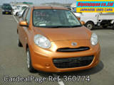 Used NISSAN MARCH Ref 360774