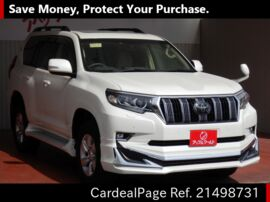TOYOTA LAND CRUISER PRADO TRJ150W Big1