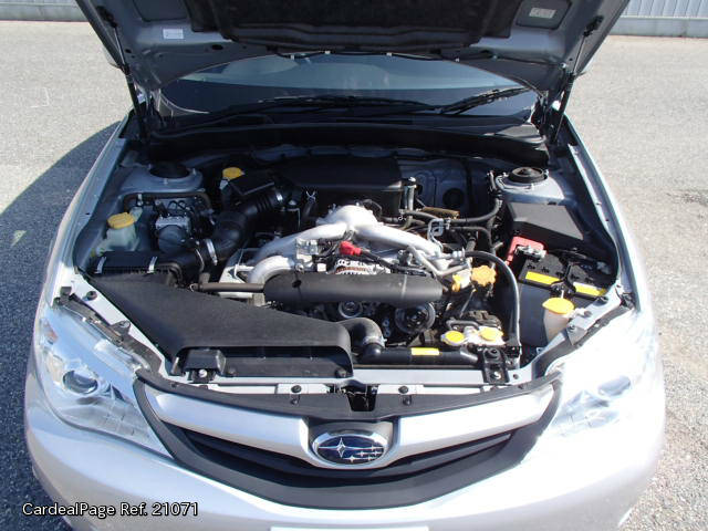 2011 Sep Used Subaru Impreza Dba Gh2 Engine Type El15 Ref