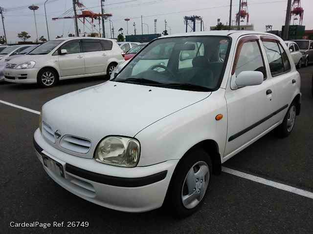 2000 feb used nissan march micra gh k11 ref no 26749. Black Bedroom Furniture Sets. Home Design Ideas