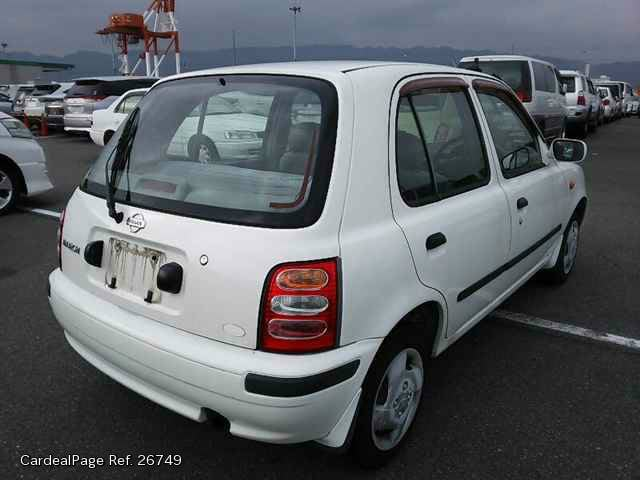 2000/Feb Used NISSAN MARCH (MICRA) GH-K11 Ref No:26749 - Japanese ...