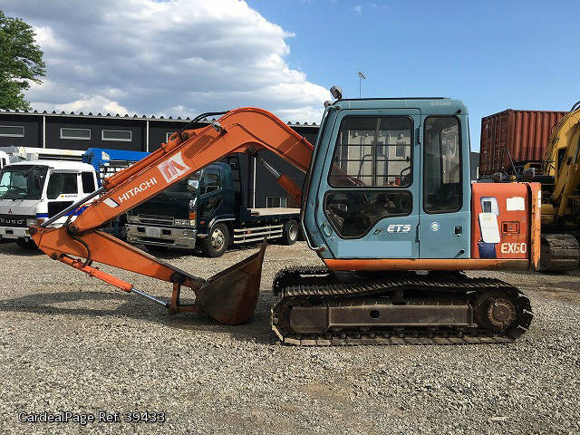 used hitachi others ex60 3 engine type ref no 39433